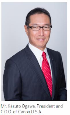 Canon U.S.A.'s President and C.O.O. Yuichi Ishizuka Appointed President and C.E.O of Canon Europe