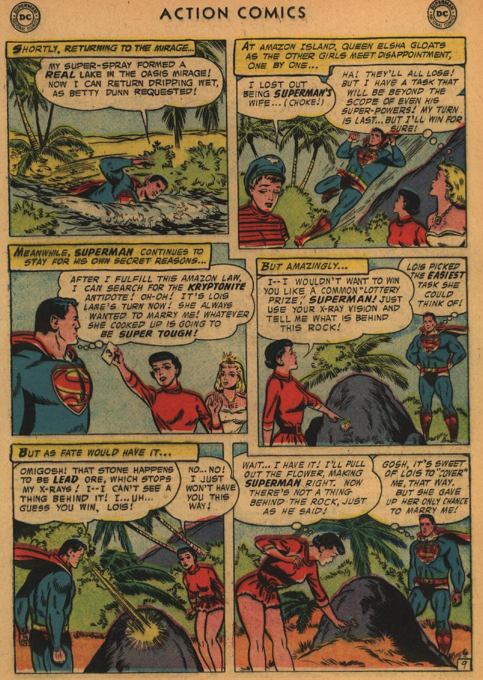 Read online Action Comics (1938) comic -  Issue #235 - 11