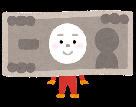 お金のキャラクター(紙幣)