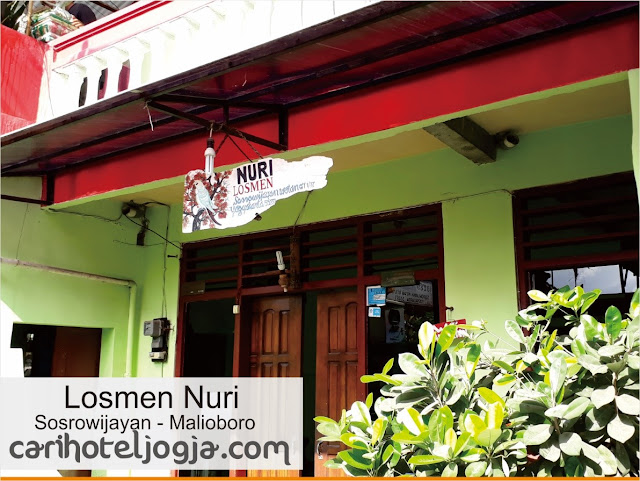 Penginapan Backpacker murah di area Malioboro
