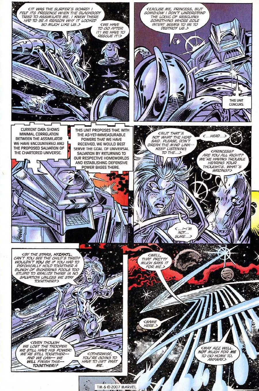 Silver Surfer (1987) Issue #118 #126 - English 13