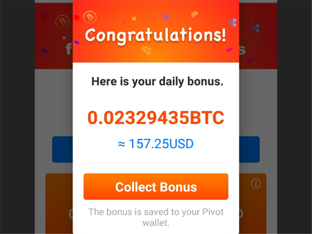 Daily Bitcoin Bonus