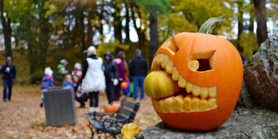 Shelburne Museum's First Annual Mini Pumpkin Chuckin'