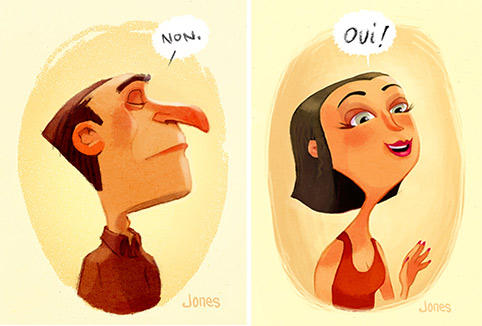Illustrating Characters: Personality Goes a Long Way