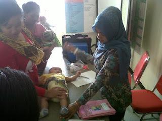 Warga Karawang Enggan Imunisasi Balitanya
