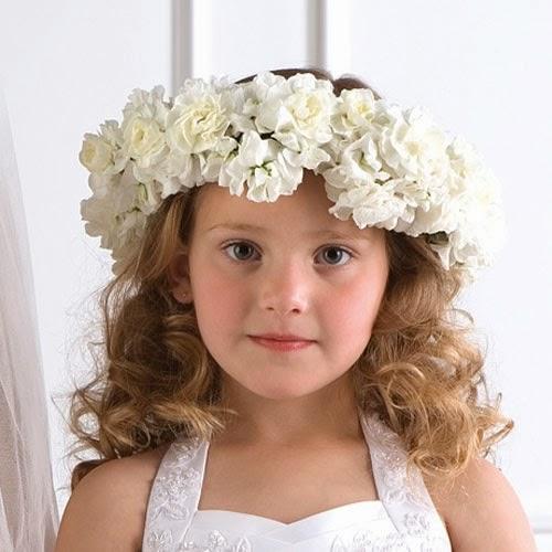 Gambar bayi paling imut pakai bunga