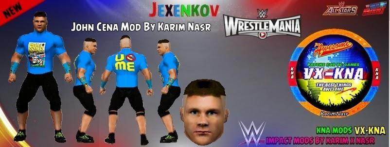 WWE Impact Mods By Karim Nasr: John Cena With T-Shirt Mod