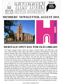 TCS Newsletter August 2015