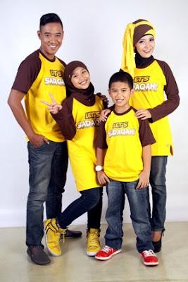 Model Baju Kaos Keluarga Muslim Terbaru