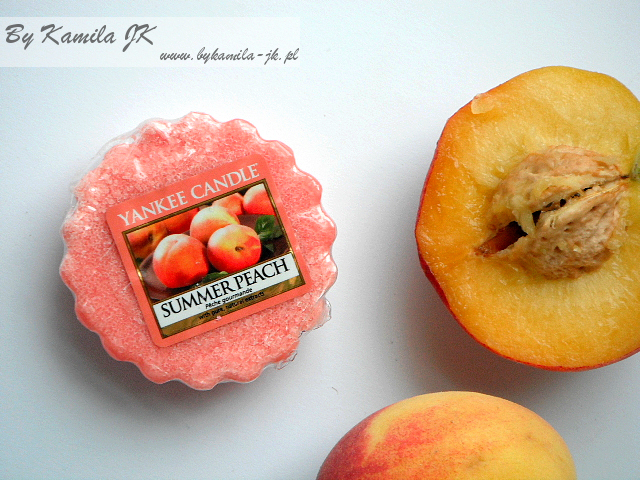 Yankee Candle wosk Summer Peach brzoskwinia