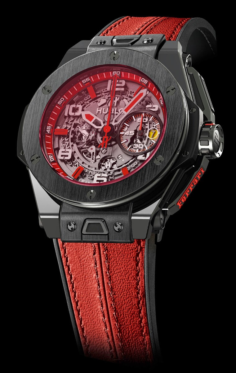 watches by sjx introducing the hublot big bang ferrari singapore limited edition with specs. Black Bedroom Furniture Sets. Home Design Ideas