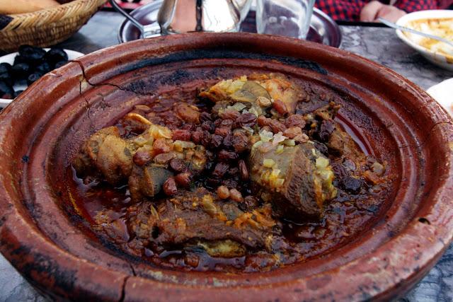 Tajine en un restaurante de Marrakech