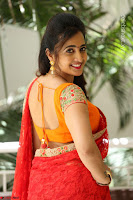 Lasya Cute Beauty in Saree Backless Choli at her Interview ~  Exclusive 069.JPG