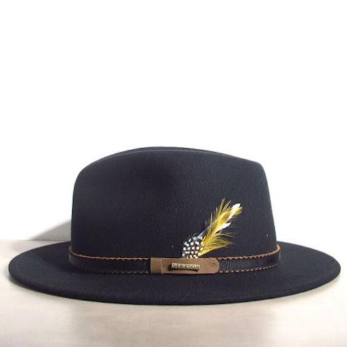 Chapeau noir feutre Stetson