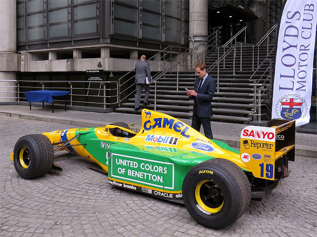 Benetton B192, Lime Street, City of London, London