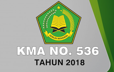 kma no 536 tahun 2018