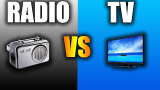 What is the difference between radio and TV