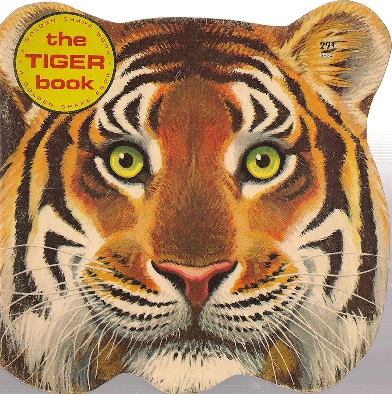 the secret world of hazel catkins the tiger book a golden shape book. Black Bedroom Furniture Sets. Home Design Ideas
