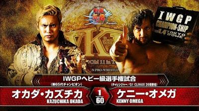 Wrestle Kingdom 11: Kazuchika Okada vs Kenny Omega