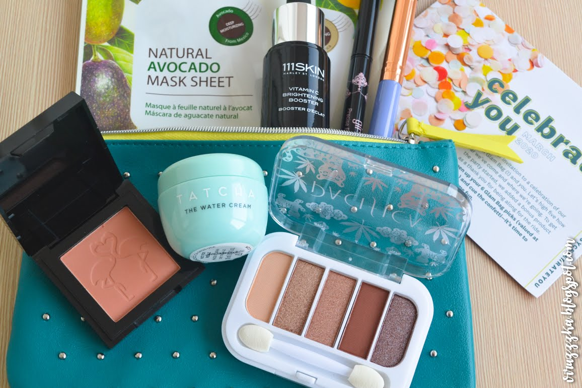 IPSY Glam Bag March 2020 Review Swatches