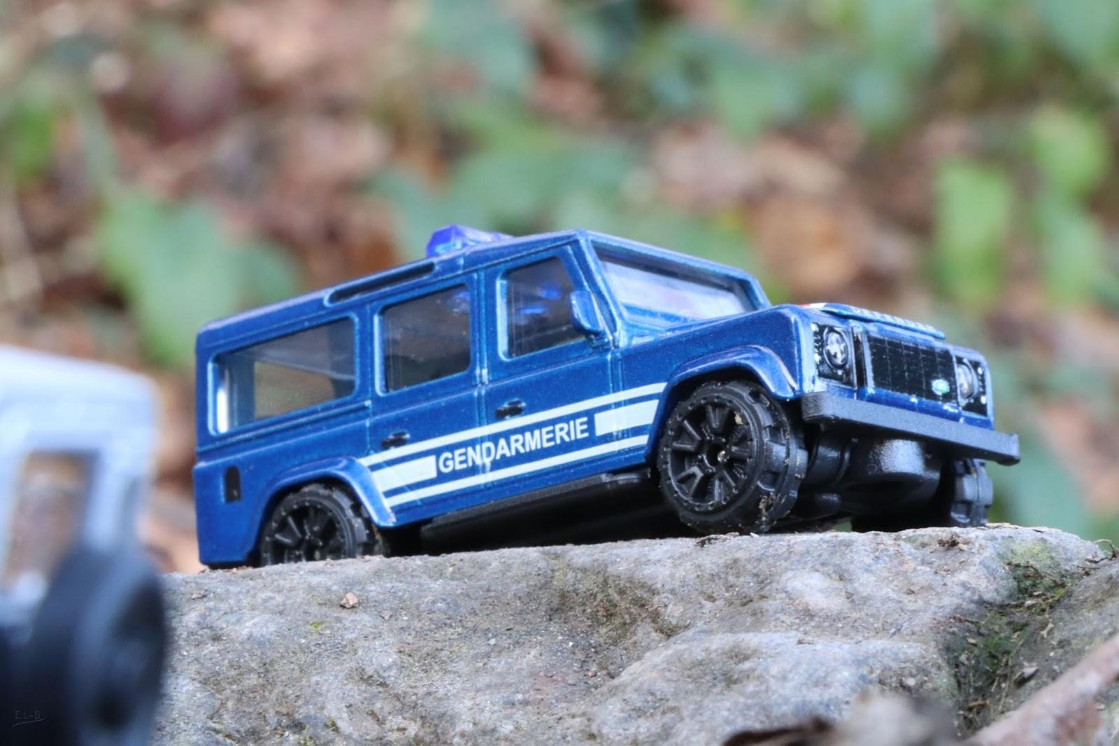 Mininches Rover Gendarmerie Chez Defender Un Land Majorette OPiTuZwklX