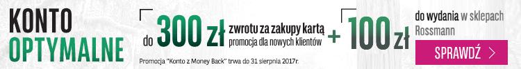 Nawet 400 zł premii do darmowego Konta Optymalnego w BGŻ BNP Paribas