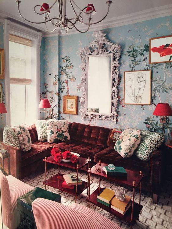 decoracion de salas vintage