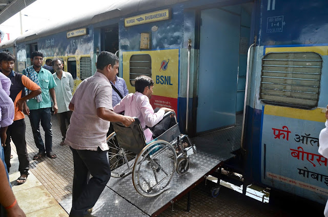 India's first disabled friendly railway station, hotfoot railway