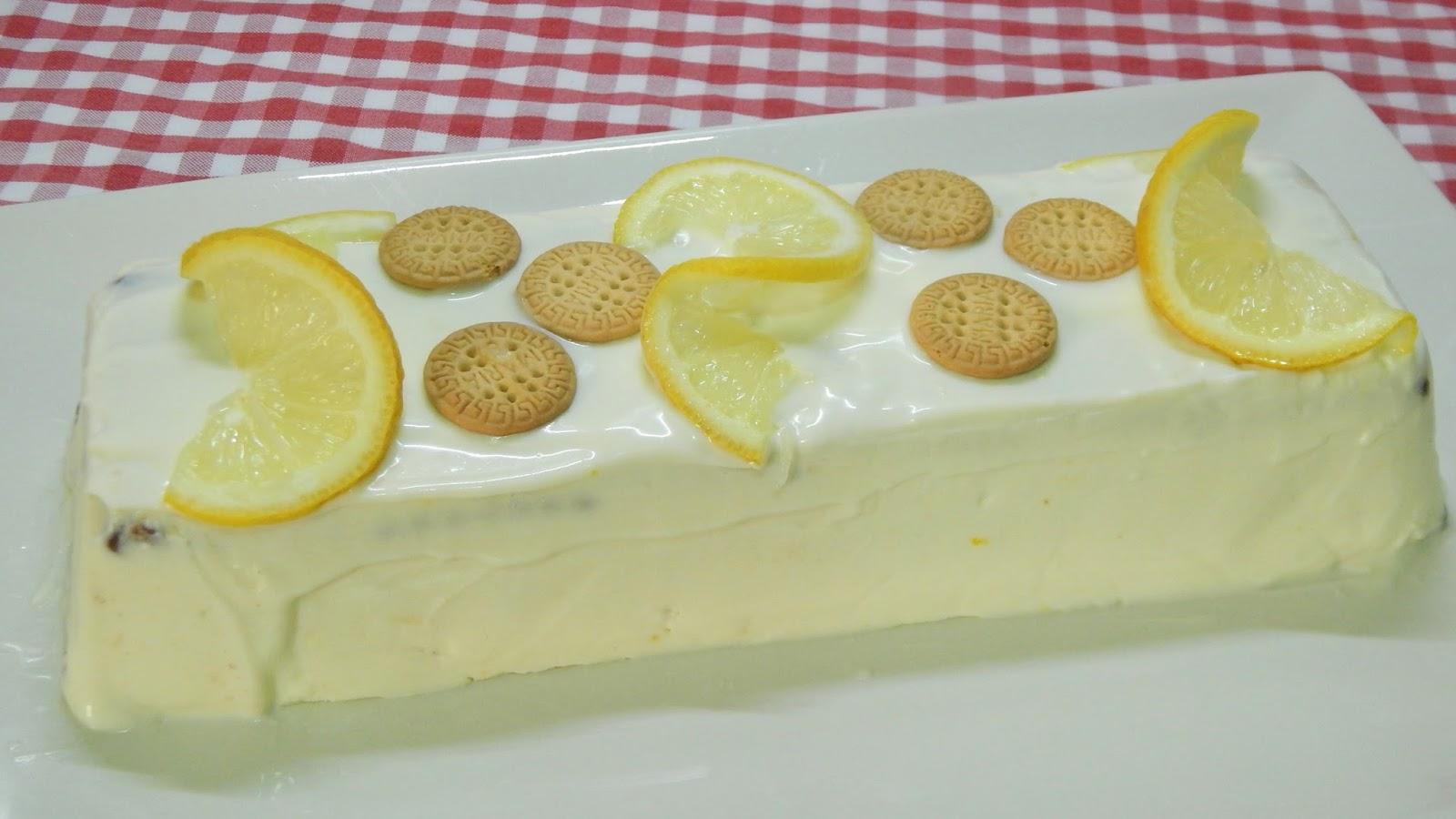 Receta De Tarta De Limón Sin Horno Y Muy Fácil De Preparar