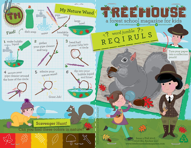 Treehouse Magazine Issue 1