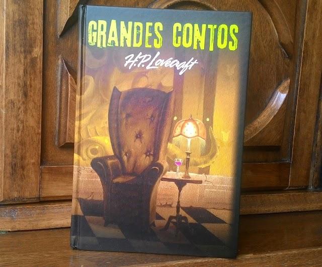 [RESENHA #165] GRANDES CONTOS - H. P. LOVECRAFT