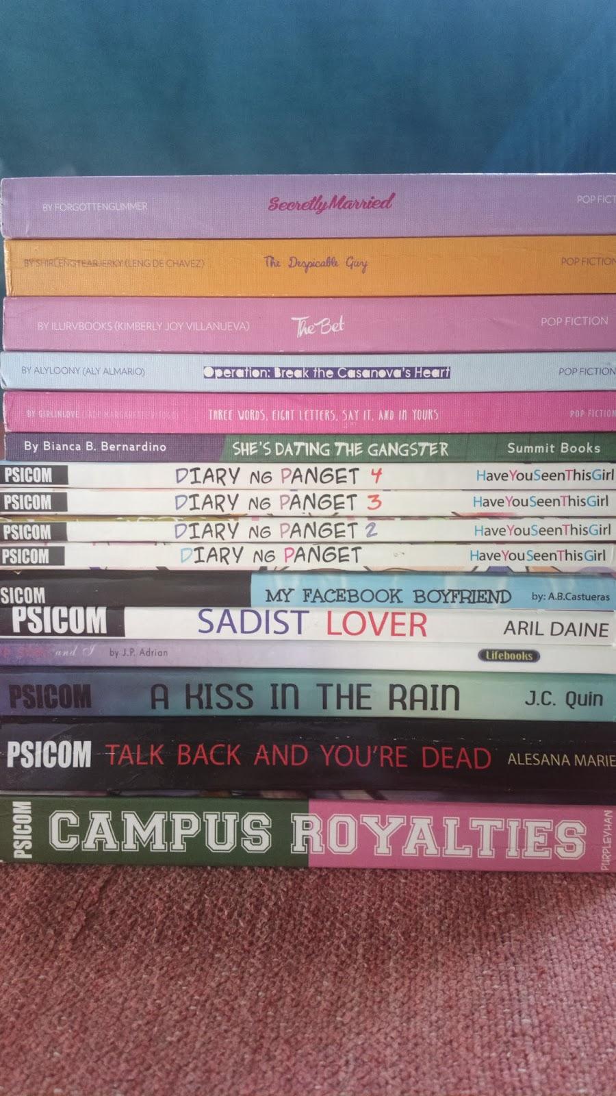 wattpad novels books