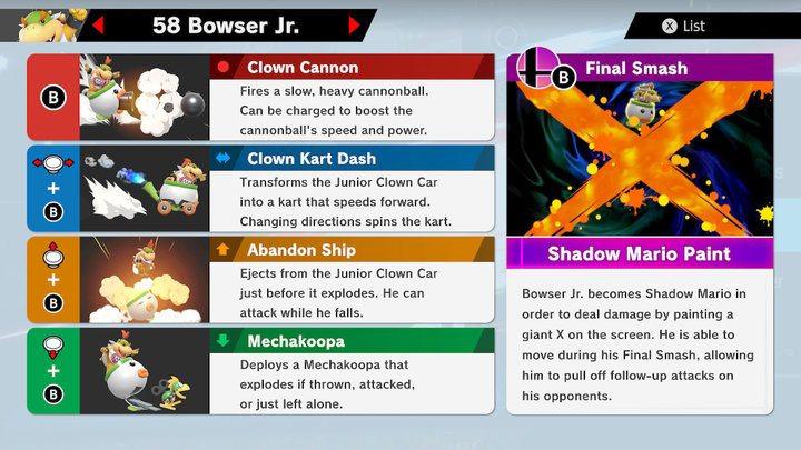 Nerfplz Super Smash Brothers Ultimate Bowser Jr Smash