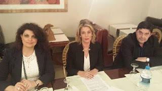 Επίσκεψη της Άννας Καραμανλή στον Νομό Φωκίδας.