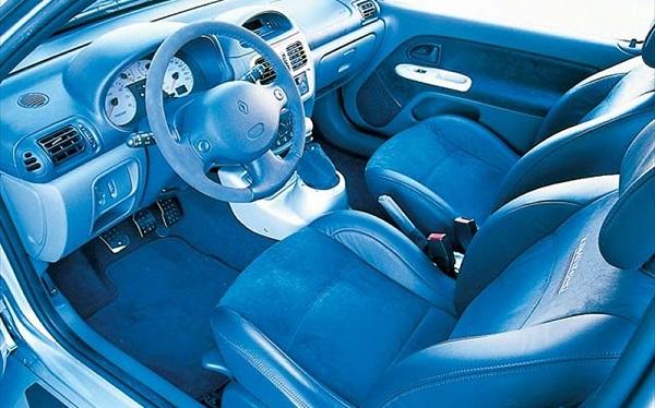 Interior Renault Clio V6 Phase 1