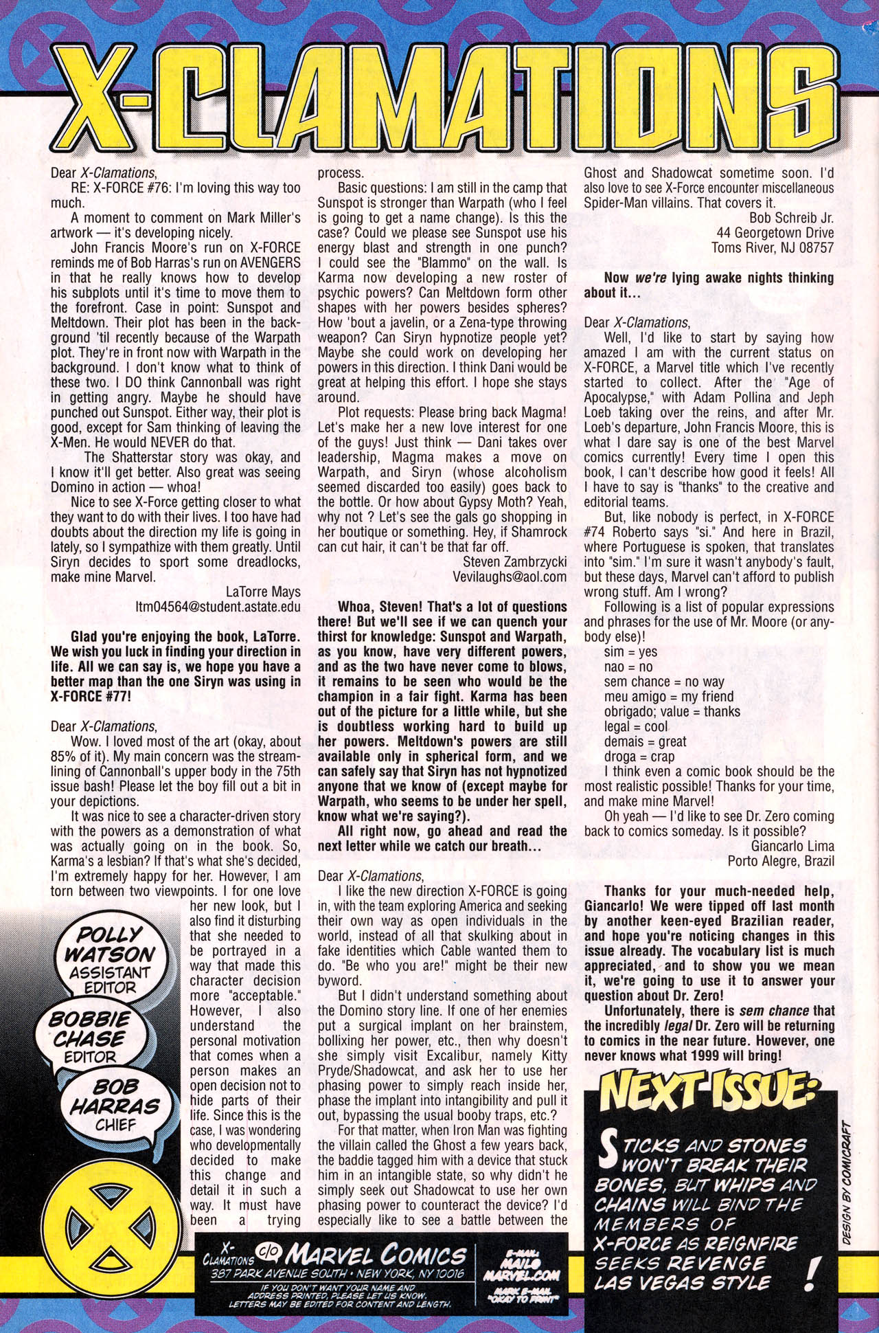 Read online X-Force (1991) comic -  Issue #78 - 35