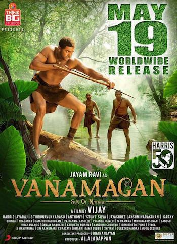 Vanamagan 2017 Hindi Dubbed 480p HDRip 350mb
