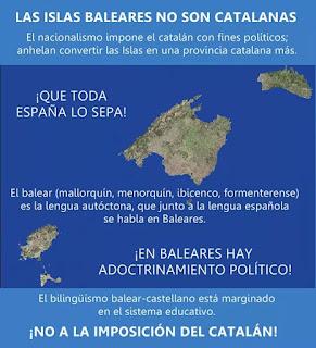 Las islas baleares no son catalanas