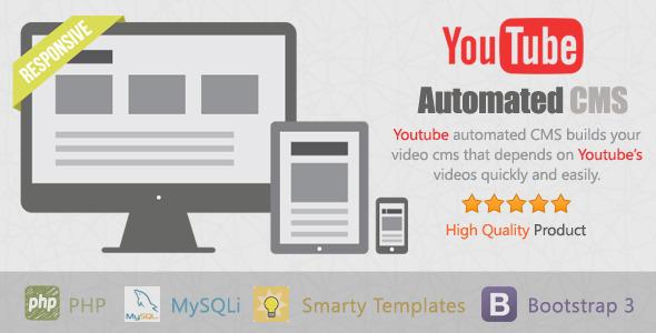 CodeCanyon - YouTube Automated CMS v1.0.7