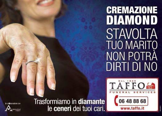 Risultati immagini per cremazione diamond