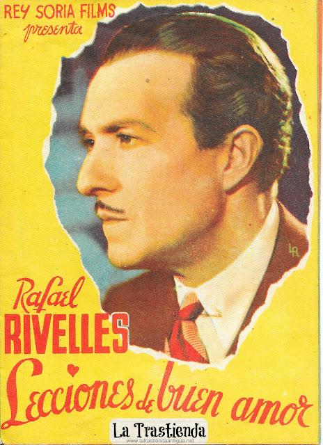 Lecciones de Buen Amor - Programa de Cine - Rafael Rivelles - Pastora Peña - Juan Calvo - Milagros Leal