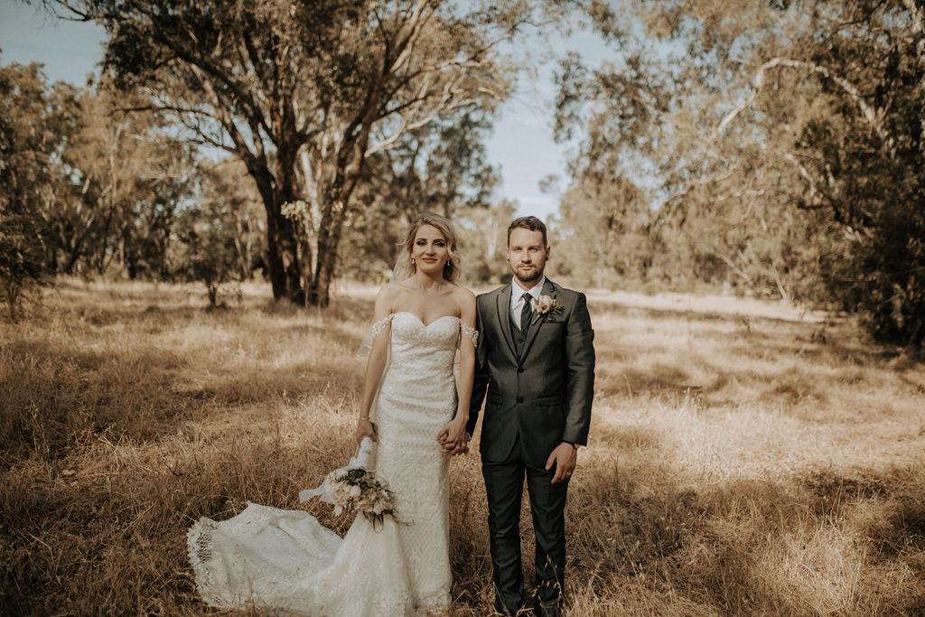 LOVE: NEVENA + MATT   SWEET VINTAGE WEDDING PERTH WA