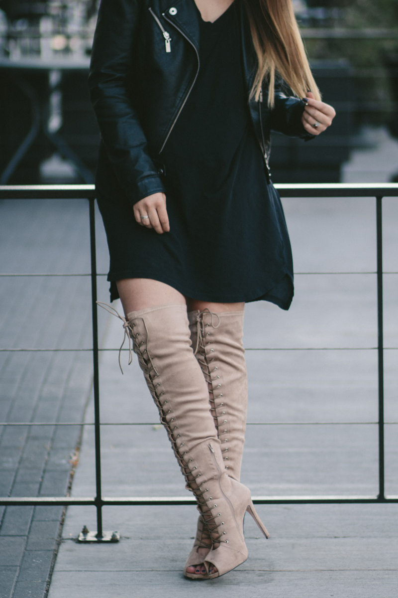 utah fashion blogger, lace up boots, lauryn hock