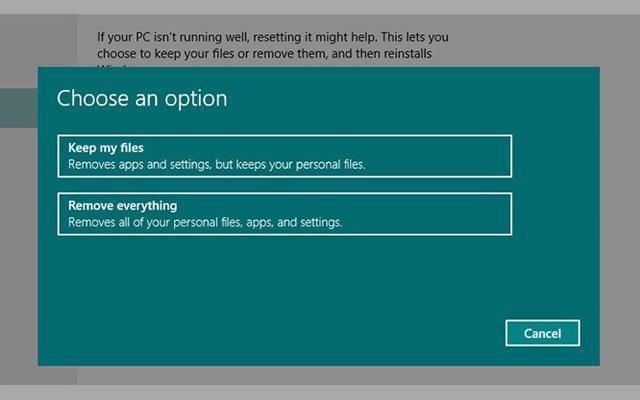 تعلم كيف تقوم بعمل إعادة ضبط المصنع للكمبيوتر في ويندوز 7 و 8 و10