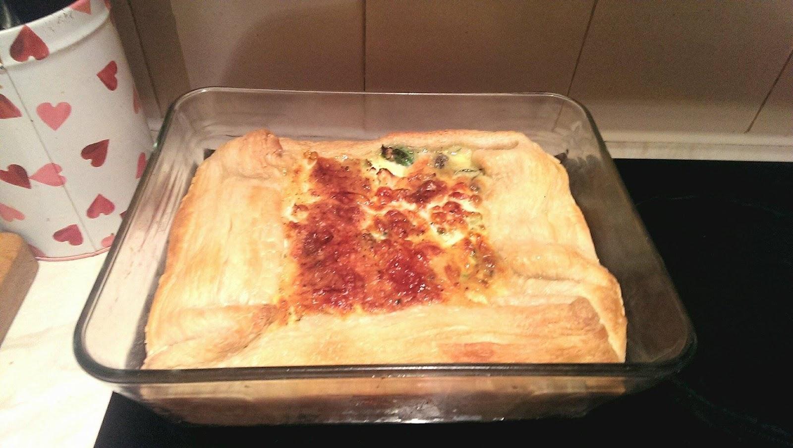 lebellelavie - Homemade Blue Cheese & Broccoli Pie Recipe