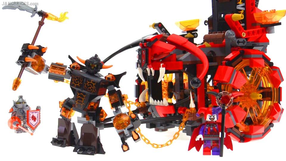 lego nexo knights kasteel jestro
