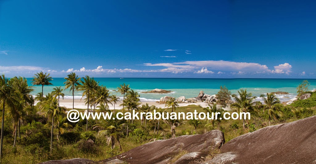 wisata pantai rambak sungailiat bangka belitung tour