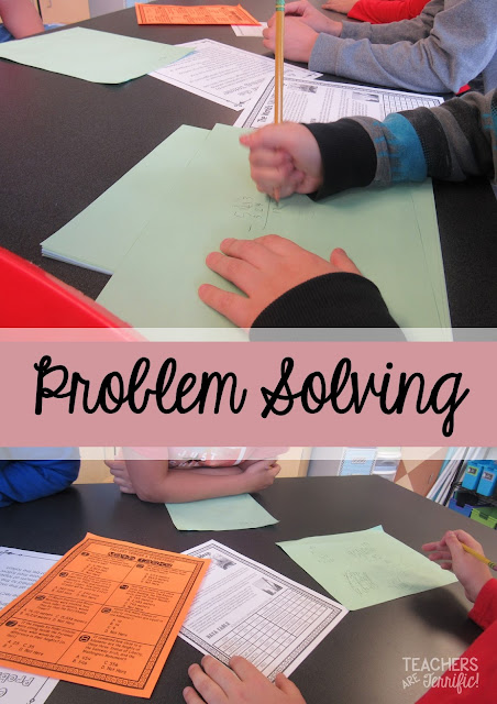 STEM Challenge: Kids had to solve math problems to earn their materials for a design challenge!