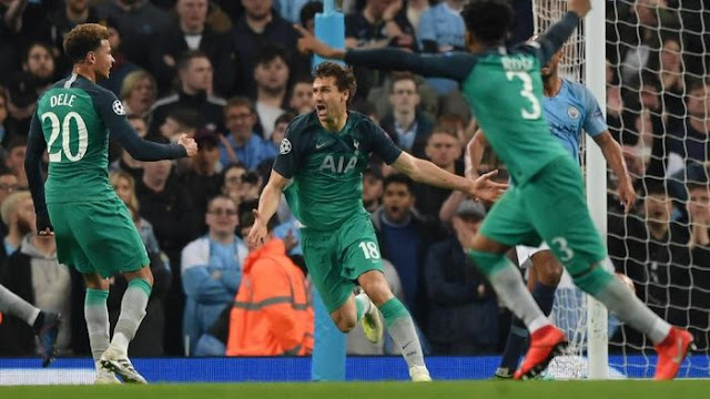 Singkirkan City, Tottenham ke Semifinal Liga Champions