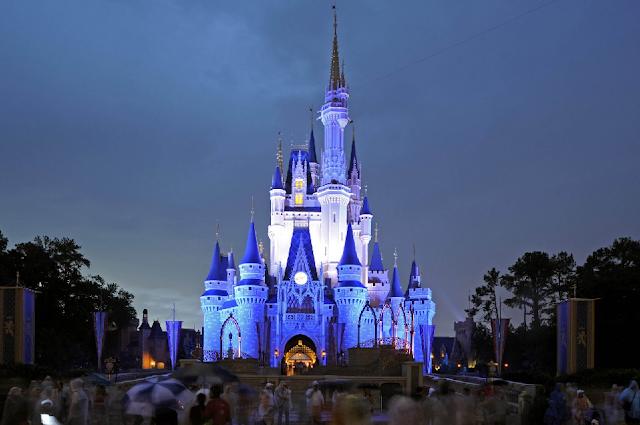Castelo da Cinderela na Disney